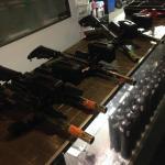 The lasertag guns