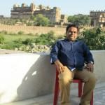 Orchha fort view