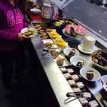 Yummy dessert selection