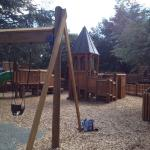 Best playground ever. Lots of fun things to climb and great for little people & slightly bigger