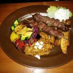 Beef Souvlaki Special