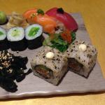 Sushi pearl,sushi variado