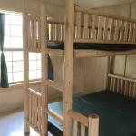 Back bedroom with double/single bunk