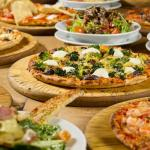 Pizza and Salads
