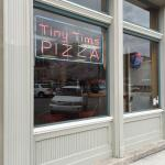 Tiny Tim's Pizza Sign