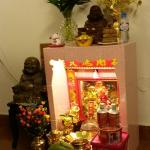 Altar in reception area: welcome!