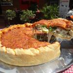 Veggie Chicago Stuffed Pizza - Special