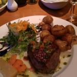 beautiful fillet steak!