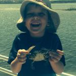 First crab fishing trip......sooooo fun!!