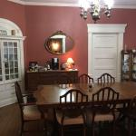Large dining area where daughter delighted us with private piano performance