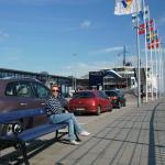 Helsingor Havn - паромный причал - ожидание
