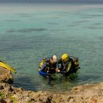Einstieg bei El Cenote / Cueva de los Peces