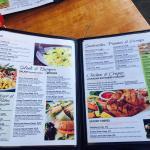 Great menu !