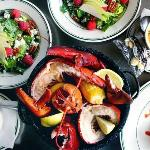 Shellfish and Salads