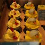 Easter cakes available to buy.