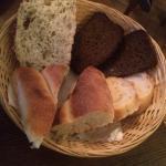 Basket of bread 100 rubles