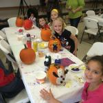 Halloween Weekend Pumpkin Decorating