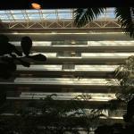 Spacious atrium/lobby area.