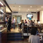 O salão do café dentro do CCBB São Paulo.