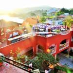 Vista desde pasillo en tercer nivel del Hotel ZihuaCaracol