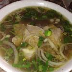 Rice Noodle Beef Soup