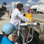 Captain Russell even made fish cleaning entertaining! Thank you!