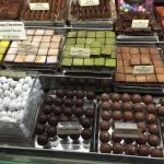 Unique assortment of hand made chocolates