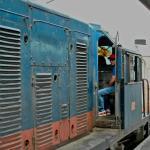 トゥトゥバン行き機関車