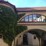Courtyard in Hotel Burg