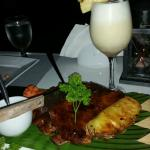 Worst Pina Colada and Ribs ever!