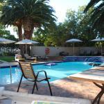 The pool aria