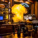 Bartender flair show