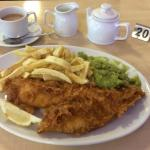 Haddock, Chips & Mushy Peas