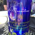 Coconut Lemongrass Cold Sake