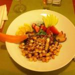 Salade Poulet croquant