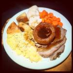 Our Sunday roast!