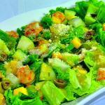 The famous Shrimp and Mango Salad