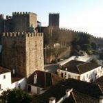 Vista do CAstelo Medieval de Óbidos