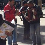 leuke straatmuzikanten
