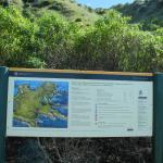 Walking map of Kaikoura Peninsula