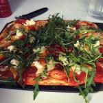 Calabrese pizza