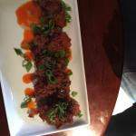 Fried chicken livers...... Yea I hesitated but was absolutely perfect appetizer with a dark beer