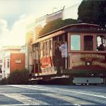Let the cable car, a National Historic Landmark, take you through several distinct neighborhoods