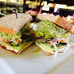 The Duncans Mills Vegetarian Sandwich