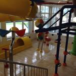 Kids' waterslide