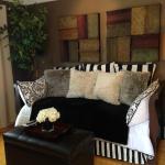 Living area on suite 6 Ed Lugo Resort