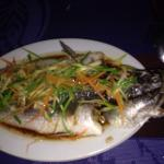 Steamed fish before