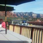 Great view from patio!