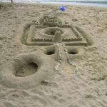 sandy beach art