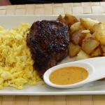 Steak and eggs (Saturday & Sunday brunch)